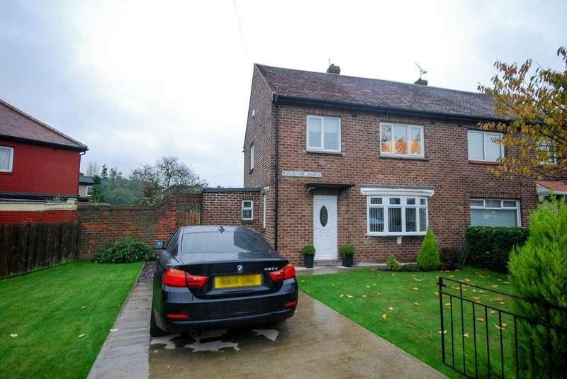 3 Bedrooms Semi Detached House for sale in Kirkstone Avenue, Jarrow