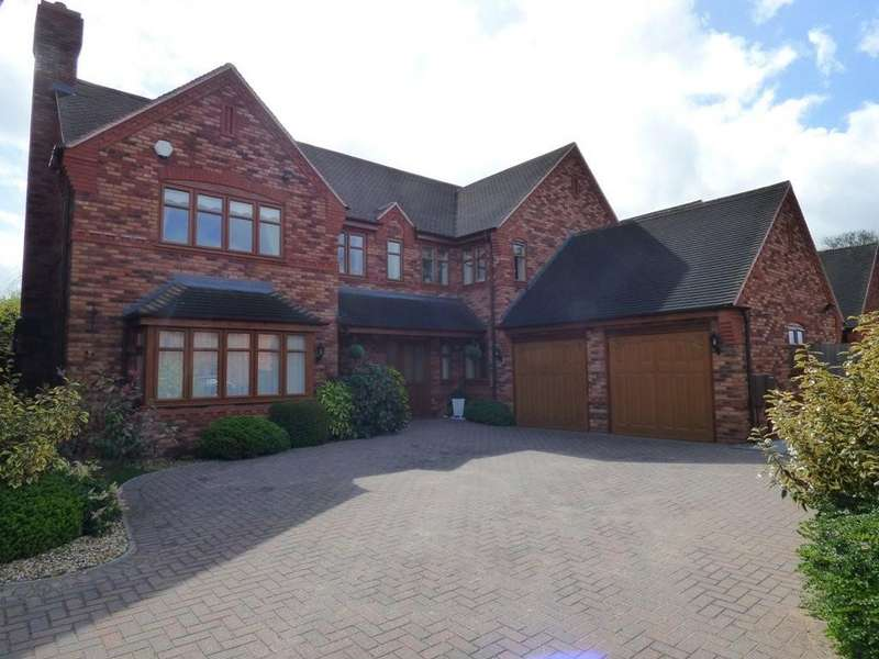 5 Bedrooms Detached House for sale in Godfrey Rise, Lichfield