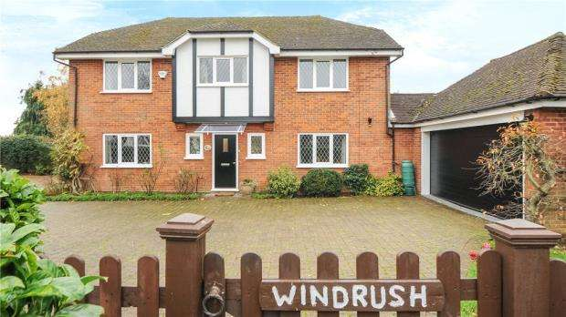 4 Bedrooms Detached House for sale in Village Road, Dorney, Windsor