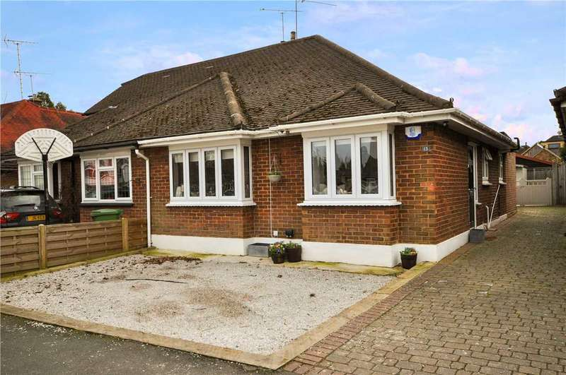 2 Bedrooms Bungalow for sale in Catherine Close, Pilgrims Hatch, Brentwood
