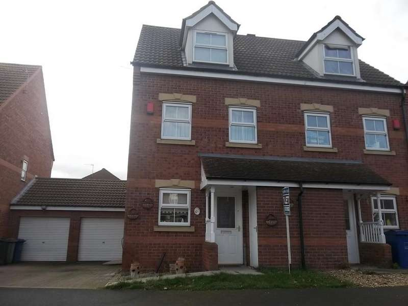 3 Bedrooms Semi Detached House for sale in Birchwood View, Gainsborough