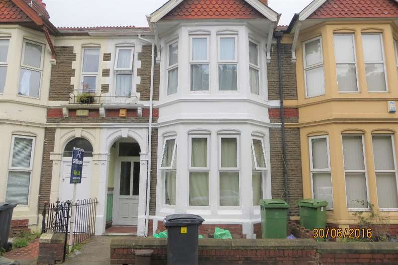 5 Bedrooms Terraced House for rent in Allensbank Road, Cardiff, CF14 3PQ