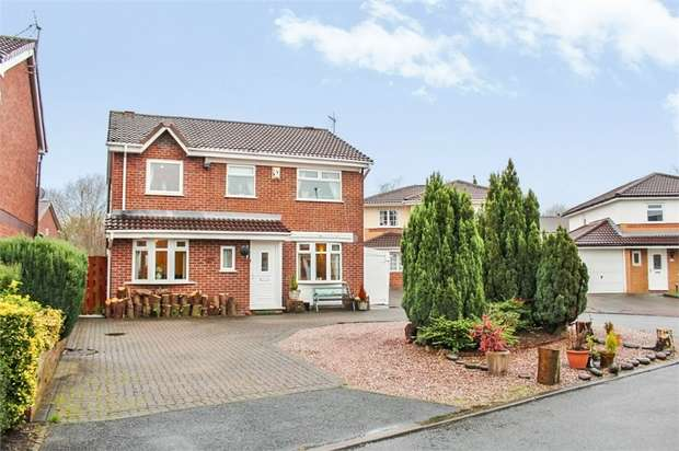 4 Bedrooms Detached House for sale in Garwood Close, Westbrook, Warrington, Cheshire