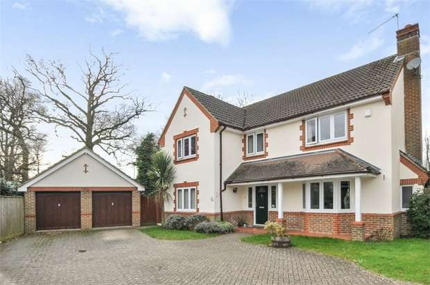 5 Bedrooms Detached House for sale in Willowherb Close, Wokingham, Berkshire