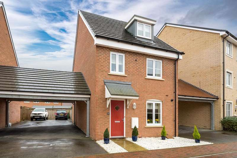 4 Bedrooms Detached House for sale in Sumatra Crescent, Newton Leys