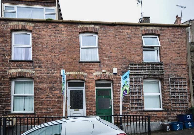 4 Bedrooms Terraced House for sale in 2 Lower Penrallt Road, Bangor, North Wales