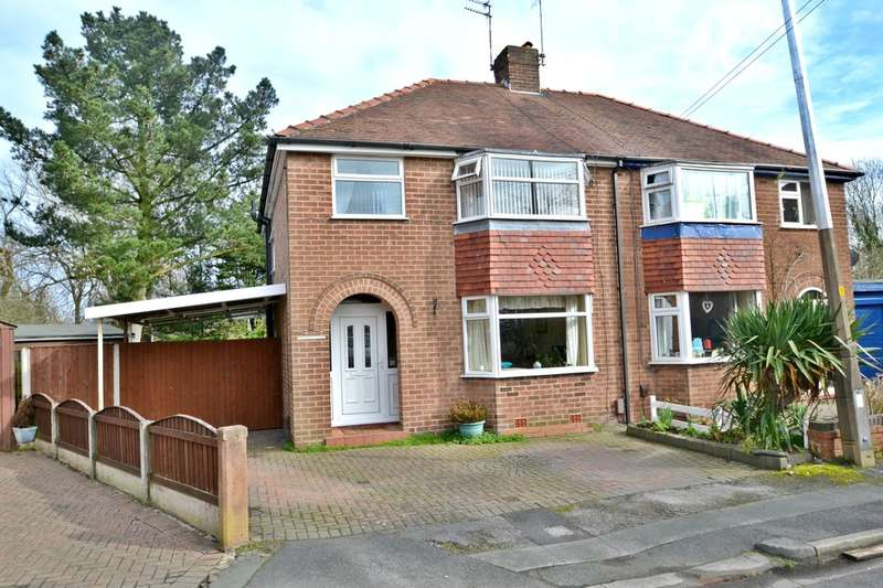 3 Bedrooms Semi Detached House for sale in Pymgate Drive, Heald Green