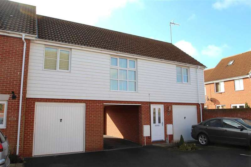 2 Bedrooms Apartment Flat for sale in Newman Drive, Grange Farm, Kesgrave, Ipswich