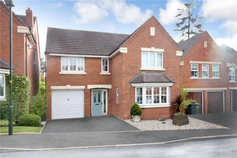 4 Bedrooms Detached House for sale in Threlfall Drive, Bewdley, Worcestershire, DY12