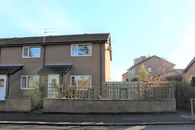 2 Bedrooms Semi Detached House for sale in Park Close, North Broomhill, Morpeth, Northumberland, NE65 9YN