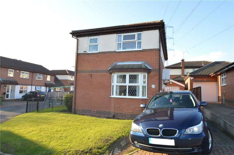 3 Bedrooms Detached House for sale in Meadow Close, Outwood, Wakefield, West Yorkshire