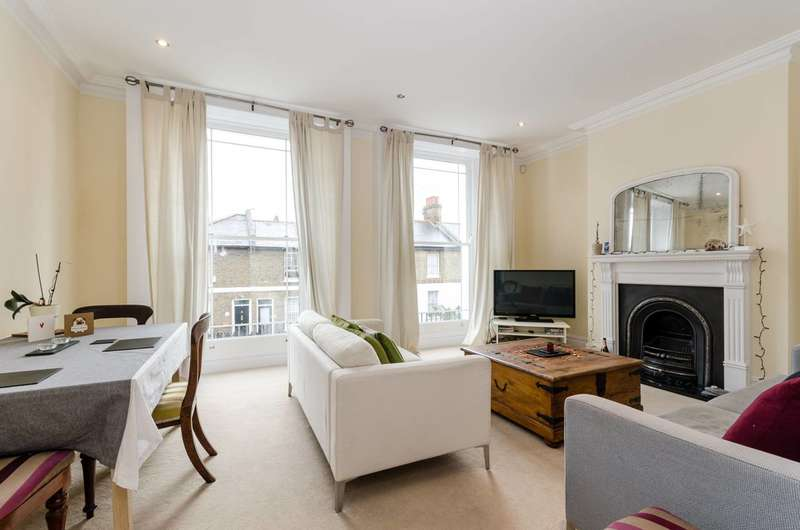 4 Bedrooms Maisonette Flat for sale in Haldane Road, Fulham Broadway, SW6