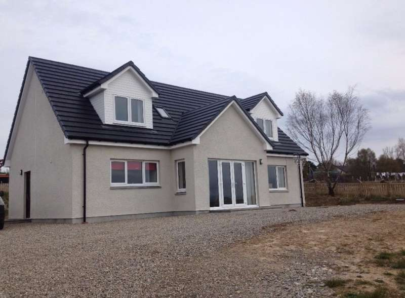 4 Bedrooms Detached House for sale in BRAE OF BADRAIN, CULBOKIE, DINGWALL, IV7