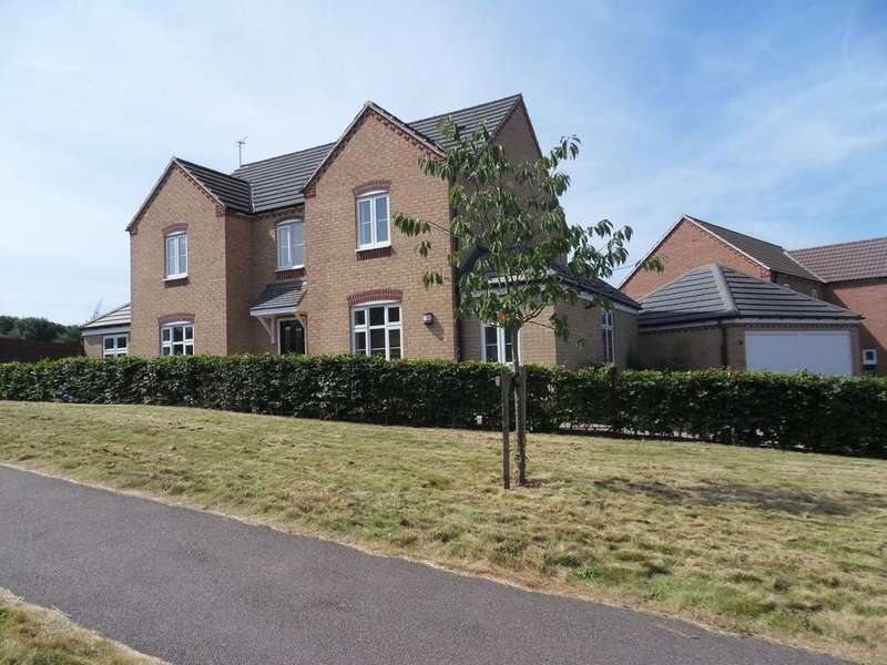 4 Bedrooms Detached House for sale in Darwin Crescent, Loughborough