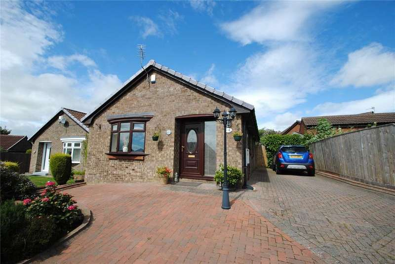 2 Bedrooms Detached Bungalow for sale in Windslonnen, Murton, Seaham, Co. Durham, SR7