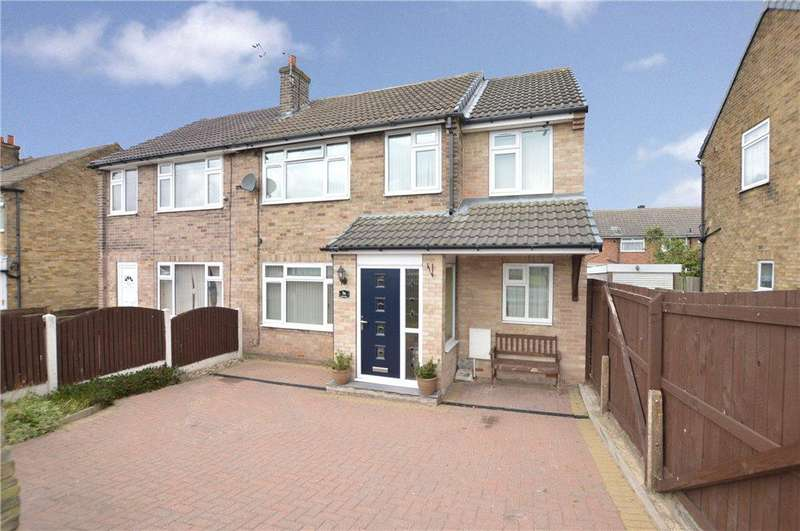 4 Bedrooms Semi Detached House for sale in Knoll Park, East Ardsley, Wakefield, West Yorkshire