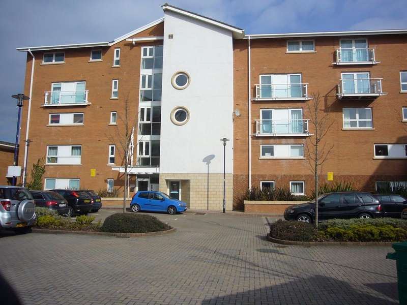 2 Bedrooms Apartment Flat for sale in Seville House, Judkin Court, Cardiff Bay