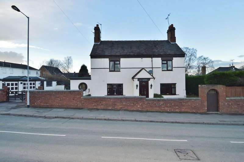 4 Bedrooms Detached House for sale in Beech Cottage, Coalpit Lane, Brereton