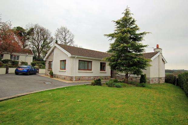 3 Bedrooms Bungalow for sale in Merlin's Hill, Abergwili, Carmarthen, Carmarthenshire