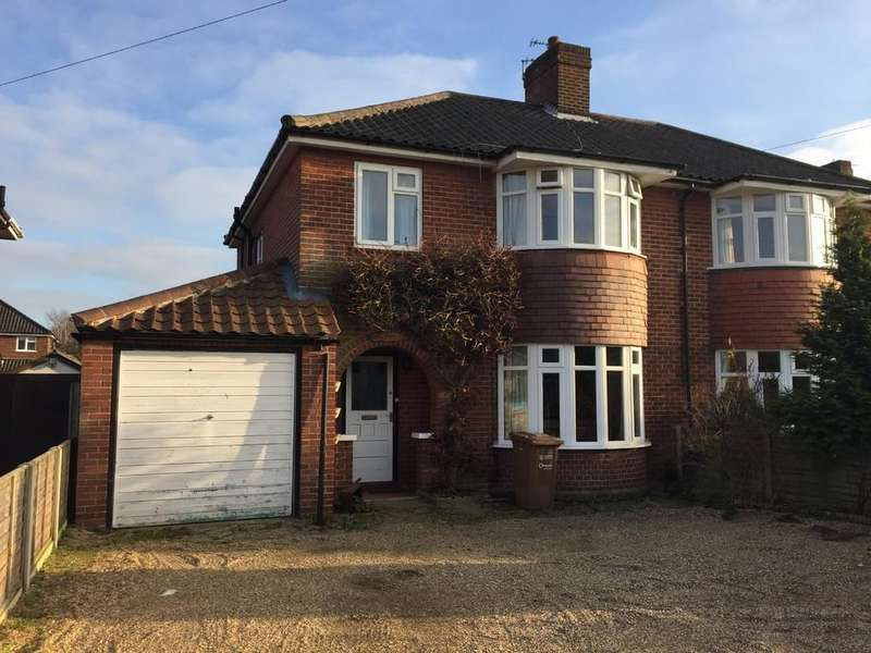 3 Bedrooms Semi Detached House for sale in Constitution Hill, Norwich, Norfolk