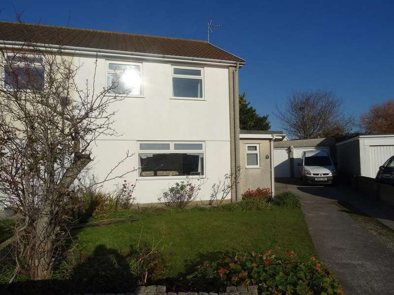 3 Bedrooms Semi Detached House for sale in CARDIGAN CLOSE, NOTTAGE, PORTHCAWL, CF36 3QN