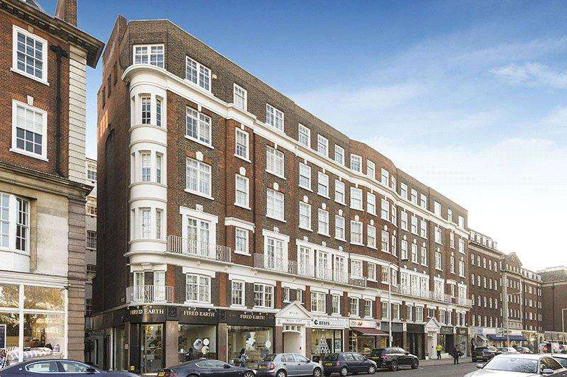 2 Bedrooms Flat for sale in Thurloe Court, Fulham Road, Chelsea, London, SW3