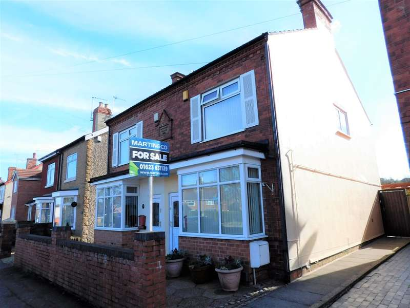 3 Bedrooms Semi Detached House for sale in Alfreton road, Sutton In Ashfield