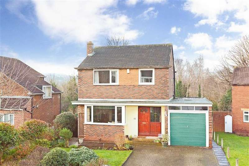 4 Bedrooms Detached House for sale in Springwood Hall Gardens, Springwood, Huddersfield, HD1
