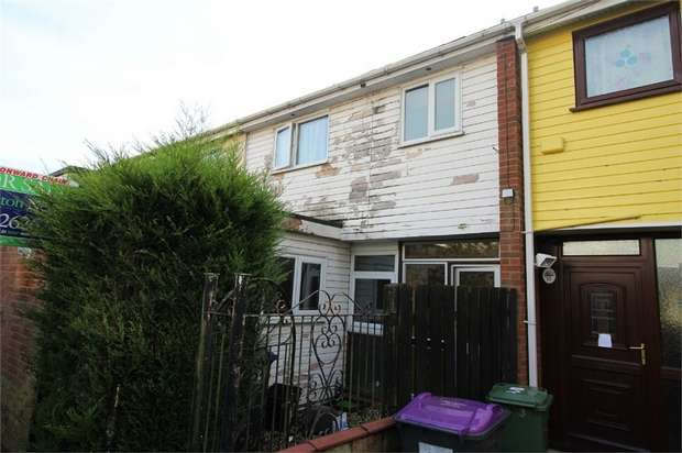 3 Bedrooms Terraced House for sale in Ellwood Path, St Dials, CWMBRAN