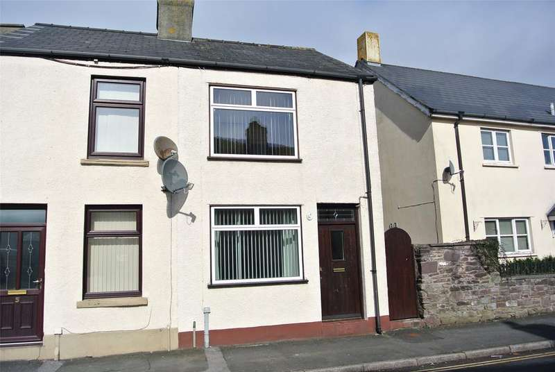 3 Bedrooms End Of Terrace House for sale in Newgate Street, Brecon, Powys