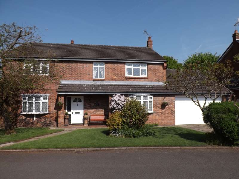 5 Bedrooms Detached House for sale in Swanwick Close, Goosetry, CW4