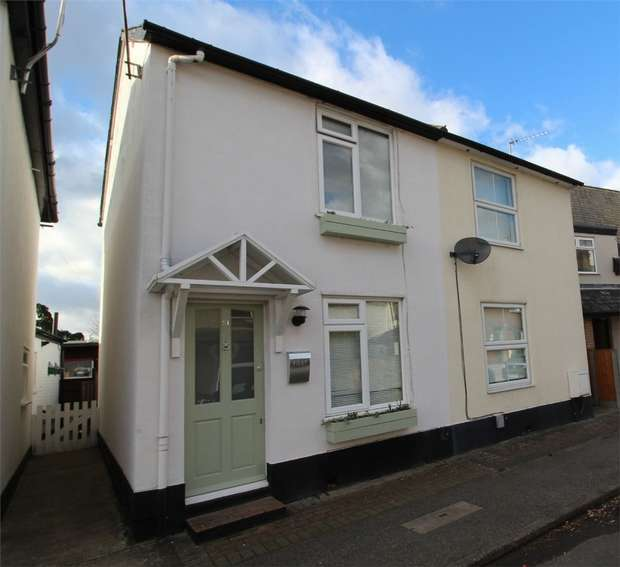 2 Bedrooms Semi Detached House for sale in Laburnum Road, Chertsey, Surrey