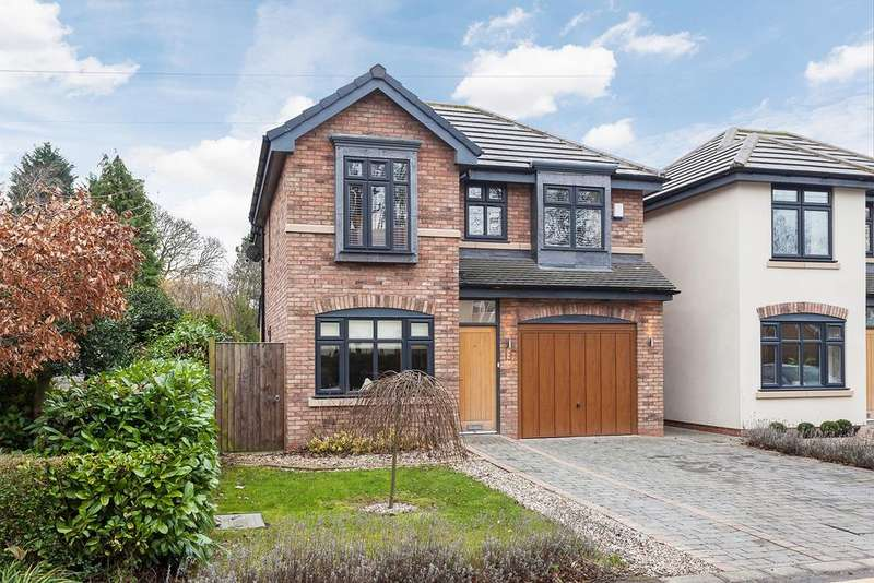4 Bedrooms Detached House for sale in Bulkeley Road, Handforth