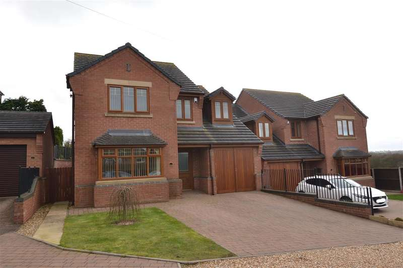4 Bedrooms Detached House for sale in Radford Court, Stafford