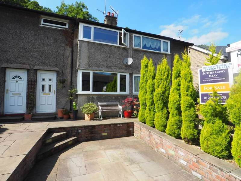 2 Bedrooms Terraced House for sale in Wharf Road, Whaley Bridge, High Peak, Derbyshire, SK23 7AD