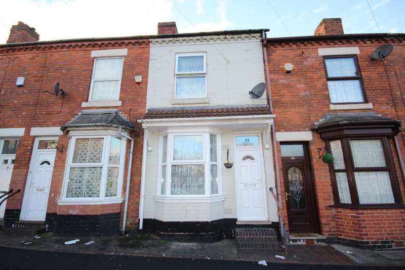 2 Bedrooms Terraced House for sale in Chiswell Rd, Birmingham, B18 4DW
