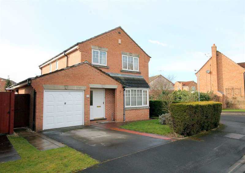 4 Bedrooms Detached House for sale in Minchin Close, York, YO30 5GL