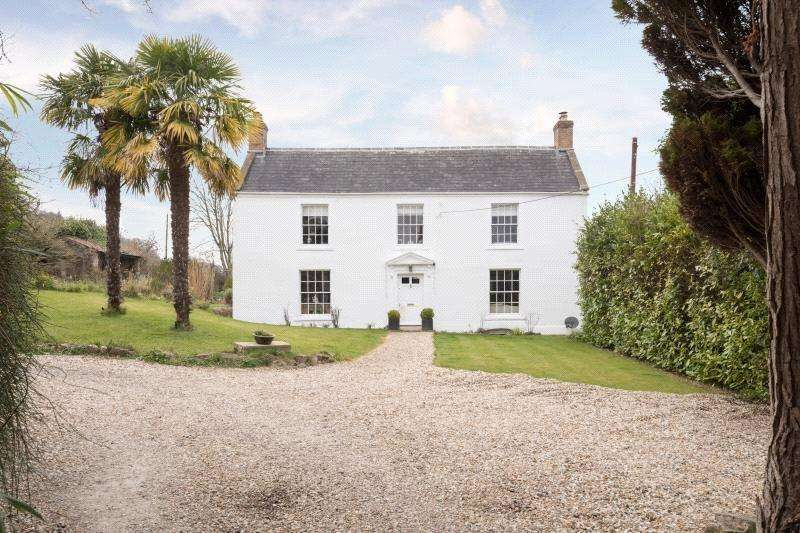 4 Bedrooms Detached House for sale in Theale, Wedmore, Somerset, BS28