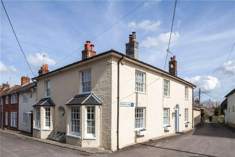 5 Bedrooms Semi Detached House for sale in Paynes Lane, Broughton, Stockbridge, Hampshire, SO20