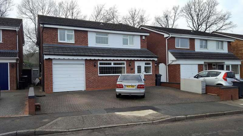 4 Bedrooms Detached House for sale in , SUNNINGDALE CLOSE, HANDSWORTH WOOD, B21