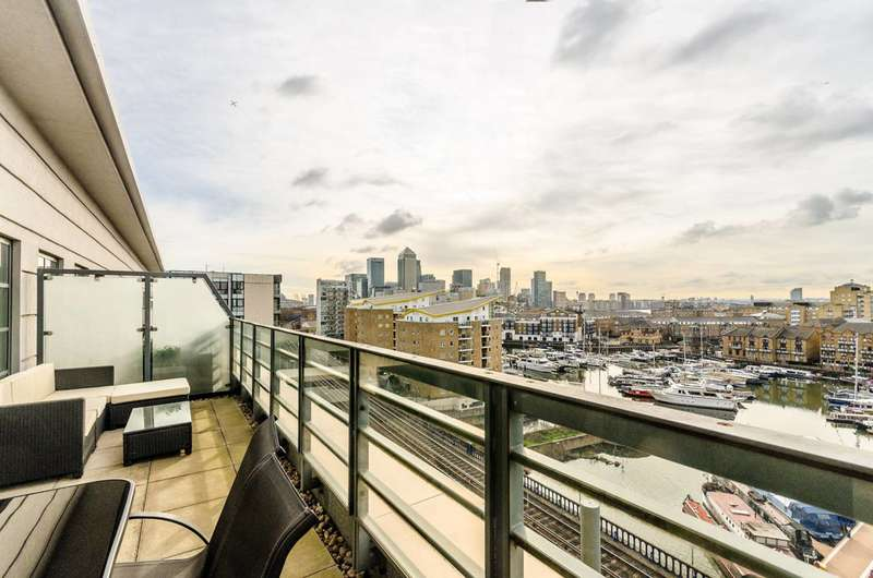 3 Bedrooms Penthouse Flat for sale in Zenith Building, Limehouse, E14