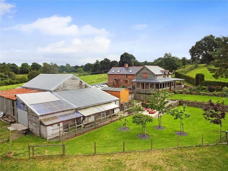 5 Bedrooms Detached House for sale in Adfa, Newtown, Powys