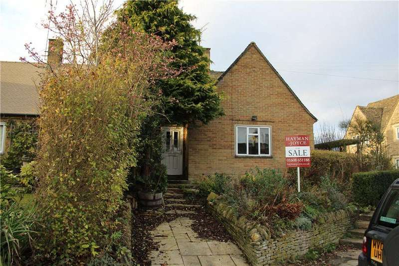 1 Bedroom Bungalow for sale in Evenlode Road, Broadwell, Gloucestershire, GL56
