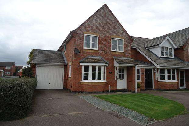 3 Bedrooms End Of Terrace House for sale in Teal Close, Leicester Forest East, Leicester, LE3