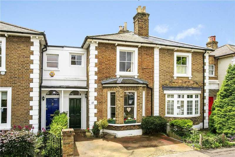 2 Bedrooms Terraced House for sale in Shaftesbury Road, Richmond, London, TW9