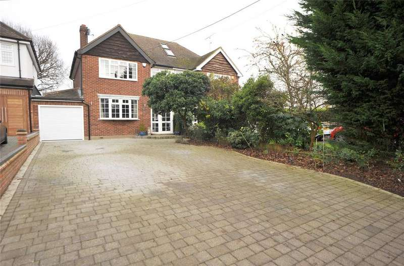 3 Bedrooms Semi Detached House for sale in Cricketers Lane, Herongate, Brentwood, Essex, CM13