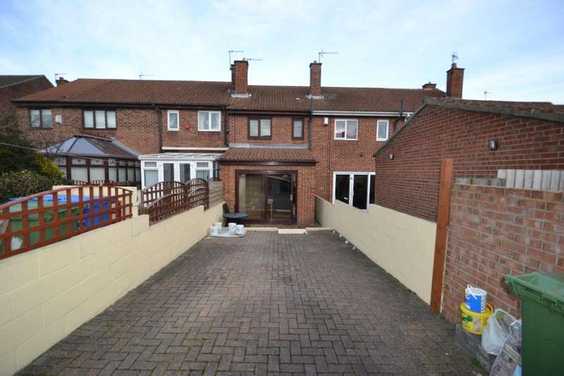 2 Bedrooms Terraced House for sale in Hamilton Court, Shotton, Co. Durham, DH6