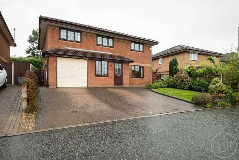 4 Bedrooms Detached House for sale in Mountwood, Skelmersdale