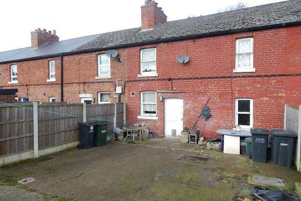 3 Bedrooms Terraced House for sale in Chapel Terrace, Newstead Village, Nottingham, NG15