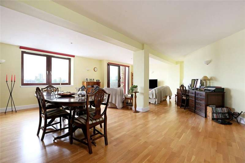 4 Bedrooms Flat for sale in Gun Wharf, 124 Wapping High Street, Wapping, London, E1W